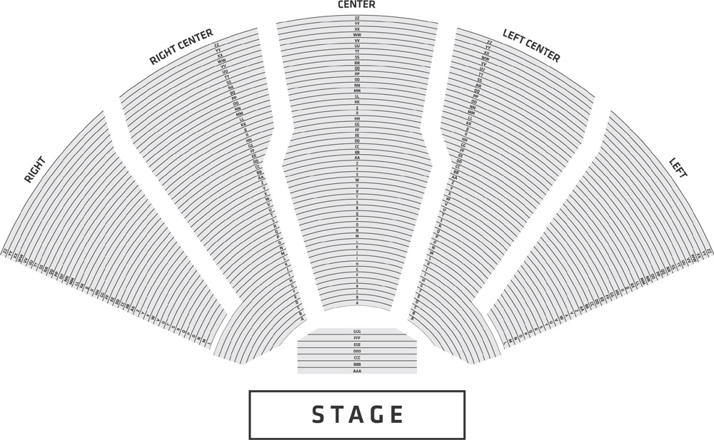 DTE Seating Chart