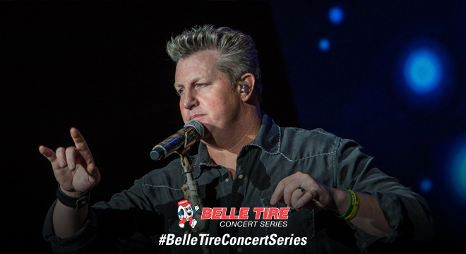 Belle Tire Shot of the Night - Rascal Flatts