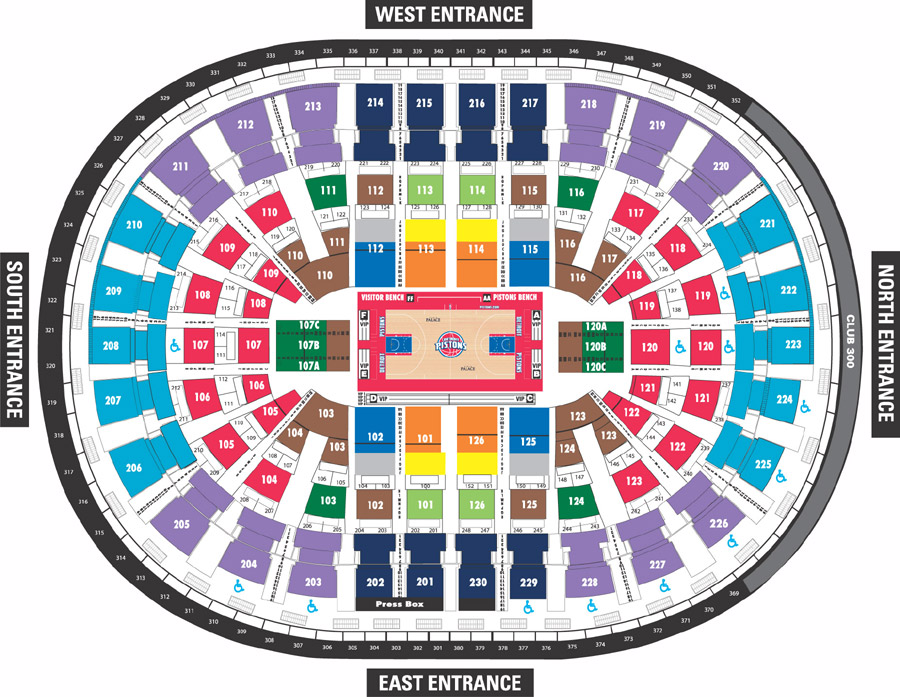 Auburn Hills Palace Seating Chart Brand Coupons